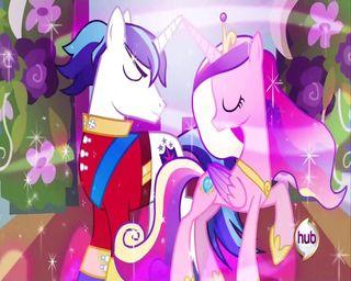Обои на телефон сияющие, свадьба, пони, магия, дружба, броня, mlp wedding, mlp, cadence