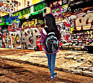 Обои на телефон хоп, хип, рэп, любовь, жизнь, женщина, девушки, граффити, the meaning of life, love, hip-hop, ads
