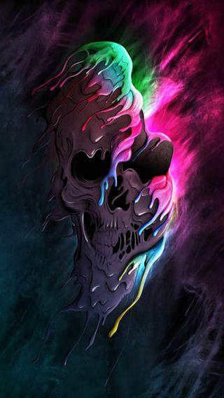 Обои на телефон скелет, цветные, мертвый, другие