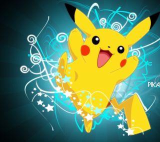 Обои на телефон покемоны, пикачу, каваи, желтые, милые, звезды, дизайн, swirls, pika
