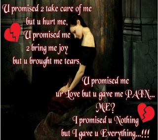Обои на телефон боль, я, сломанный, слеза, сердце, повредить, одиночество, обещание, девушки, грустные, hurt me