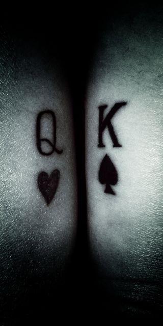 Обои на телефон туз, королева, тату, покер, мистер, любовь, король, love, king and queen, as