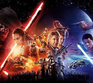 Обои на телефон меч, фильмы, темные, сила, свет, звезда, войны, vii, awaken