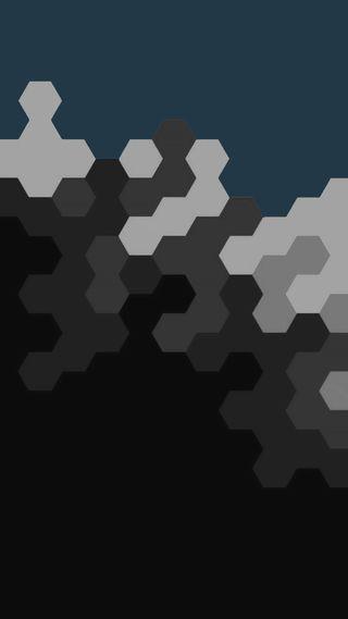 Обои на телефон геометрические, простые, минималистичные, минимализм, hex, 929