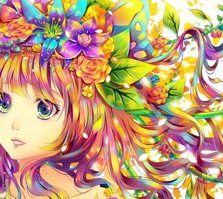 Обои на телефон милые, красочные, девушки, аниме