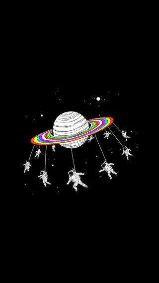Обои на телефон самолет, черные, пастельные, космос, tumblr, astronauts
