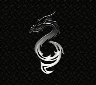 Обои на телефон змея, темные, стальные, серебряные, металл, змеевидный, дрейк, дракон, dragon