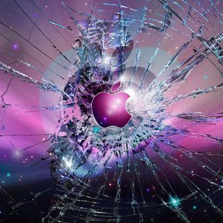 Обои на телефон экран, эпл, сломанный, блокировка, айпад, абстрактные, oops, ipad air, break, apple broken screen