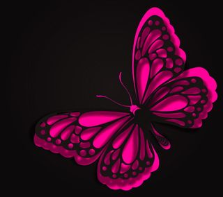 Обои на телефон бабочки, фон, розовые, абстрактные, pink abstract, abstract butterfly