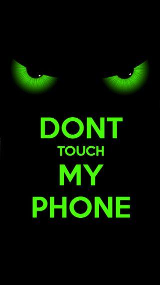 Обои на телефон трогать, не, телефон, мой, зеленые, айфон, iphone