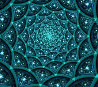 Обои на телефон спираль, треугольник, круги, абстрактные, abyss, 3д, 3d