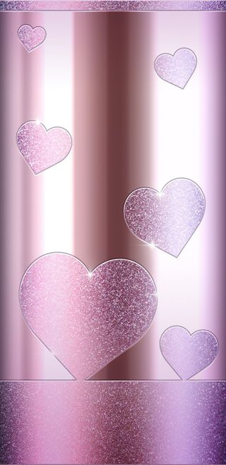 Обои на телефон пастельные, сияние, симпатичные, сердце, розовые, любовь, девчачие, блестящие, shiny hearts, love