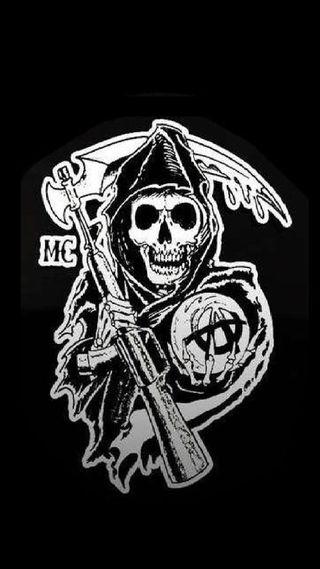 Обои на телефон bikers, fx, мотоциклы, байкер, анархия, сыны, сыны анархии