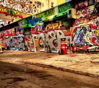 Обои на телефон граффити, арт, абстрактные, art