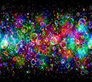 Обои на телефон пузыри, цветные, абстрактные, bubbly