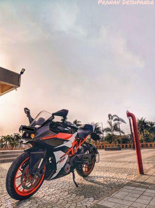 Обои на телефон мотоциклы, ктм, закат, гонщик, sunset with rc, rc200, rc, ktmrc390, ktmrc200, ktmrc, ktm390, duke