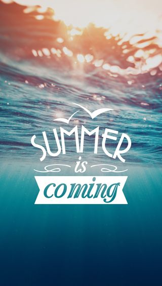 Обои на телефон волна, пляж, лето, coming