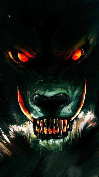 Обои на телефон смерть, волк