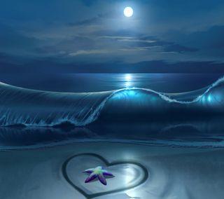 Обои на телефон море, любовь, sea off love, sea off, love