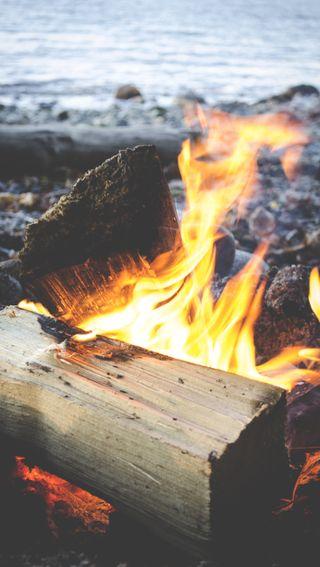 Обои на телефон рокки, поход, поездка, пляж, огонь, explore, bonfire beach 2, bonfire