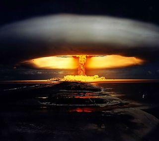 Обои на телефон ядерные, последние, новый, дым, город, взрыв, hd, atomic, 3д, 3d, 2013