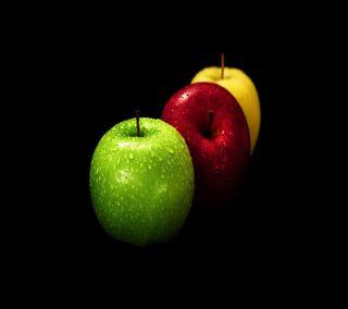 Обои на телефон свежие, эпл, черные, фрукты, фон, приятные, природа, крутые, apple