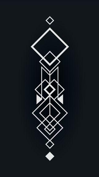 Обои на телефон квадратные, черные, арт, абстрактные, art
