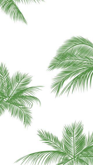 Обои на телефон прекрасные, листья, зеленые, айфон, iphone