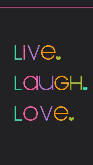 Обои на телефон смех, любовь, love, livelaughlove, live