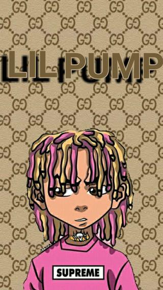 Обои на телефон розовые, музыка, лил, гуччи, supreme, pump, lilpump, hd, gucci, esketit