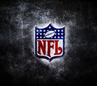Обои на телефон футбол, стена, спортивные, логотипы, американские, nfl logo, nfl