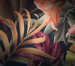 Обои на телефон стандартные, цветы, хуавей, стена, осень, матовые, зеленые, mate 10, huawei mate 10, hold