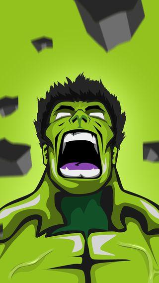 Обои на телефон халк, зеленые, hulk1