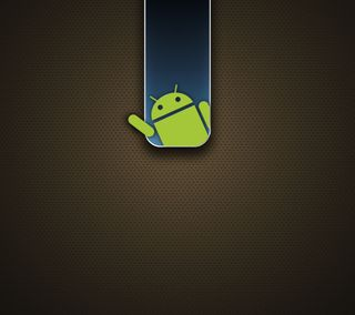 Обои на телефон ряд, дроид, простые, прекрасные, минимализм, лучшие, коричневые, андроид, droid series z032, android