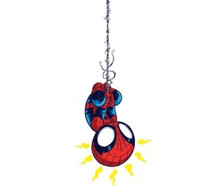 Обои на телефон человек паук