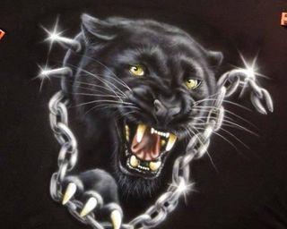 Обои на телефон пантера, черные, коты, животные