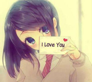 Обои на телефон симпатичные, ты, милые, любовь, девушки, глаза, аниме, note, love
