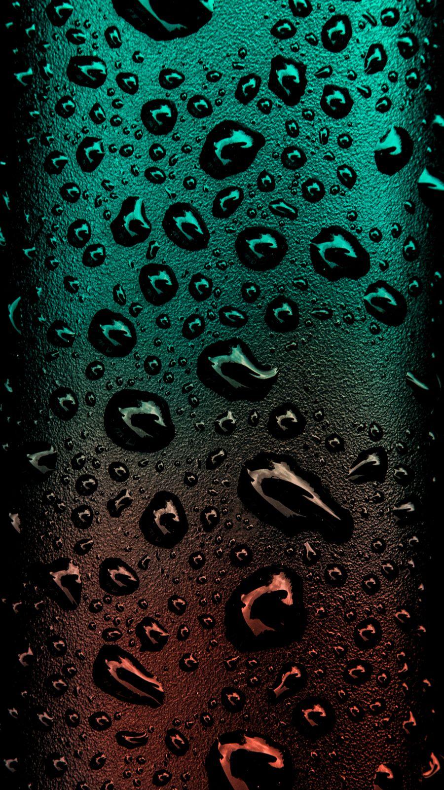 Обои на телефон чистые, черные, фото, минимализм, капли дождя, капли, дождь, градиент, hd