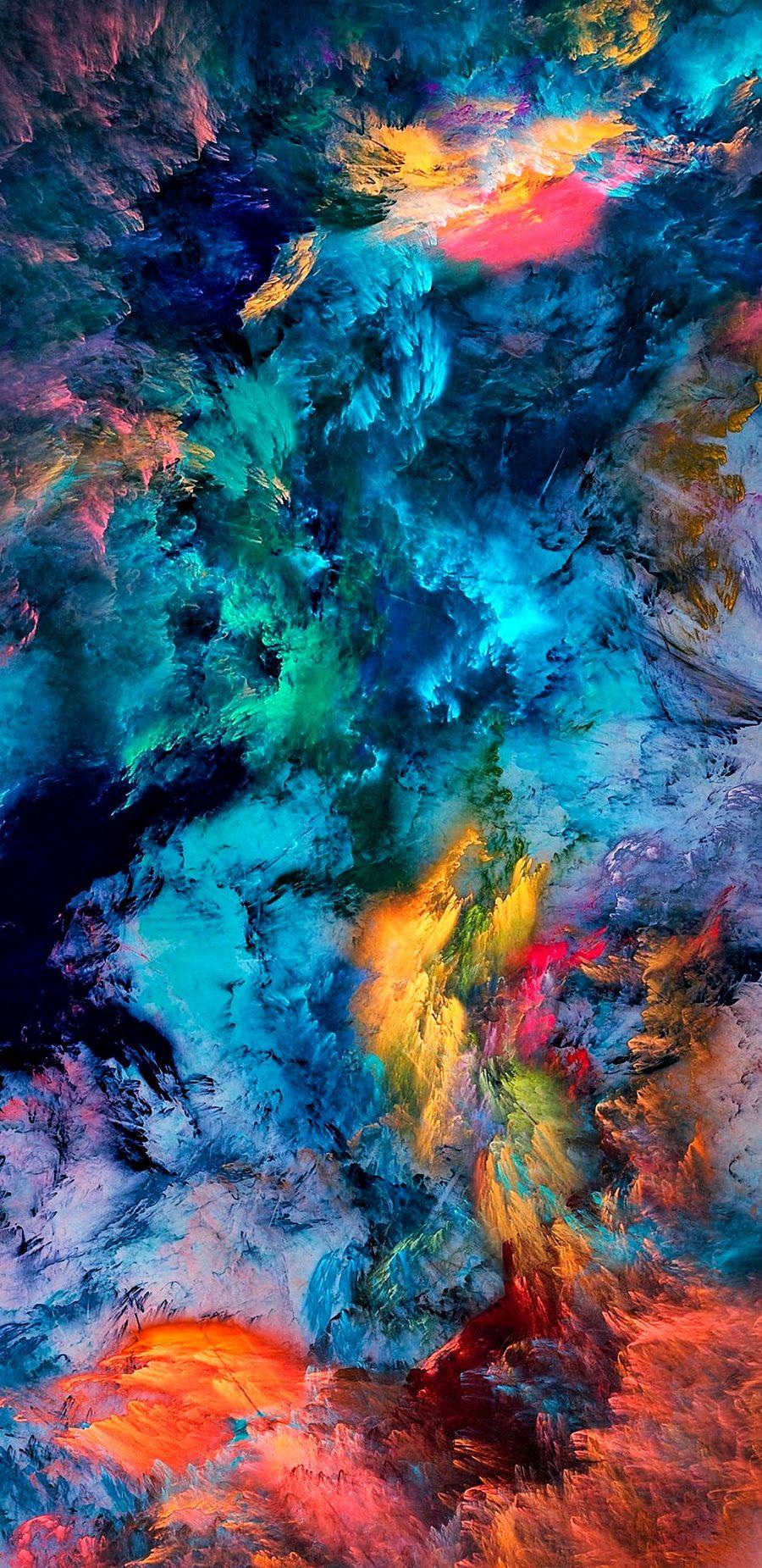 Обои на телефон шторм, цветные, случайные, радуга, небо, море, микс, космос, beyond crayola