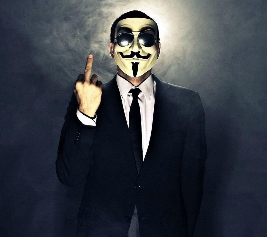 Обои на телефон vendeta, anonimus